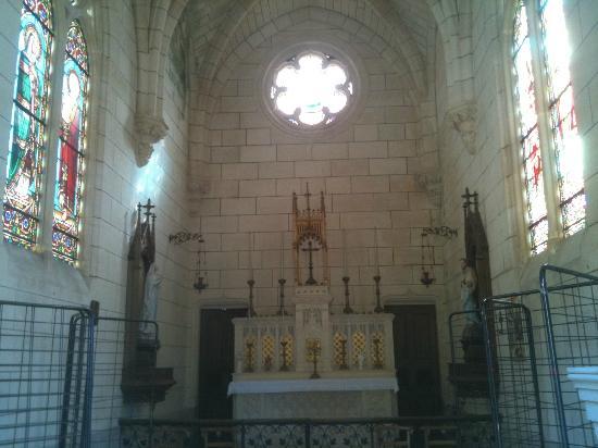 Chambres d'hotes du Chateau de Leognan : Intérieur chapelle