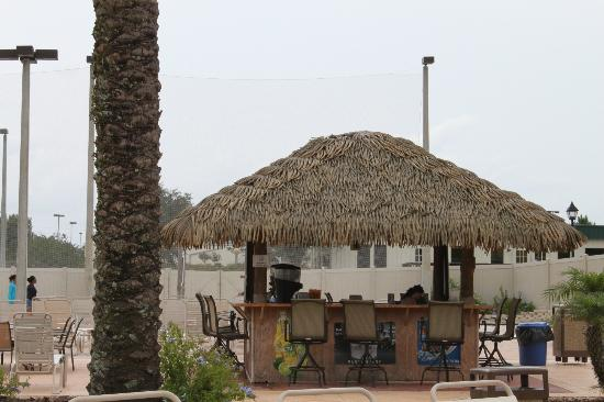 Villas at Regal Palms Resort & Spa : bar by pool & volleyball area