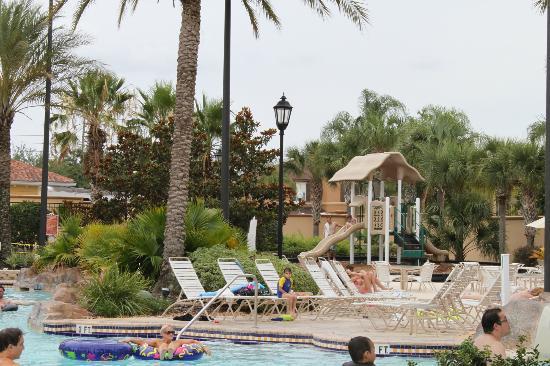 Villas at Regal Palms Resort & Spa: playground area