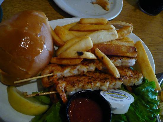 Montana Mike's Steakhouse: Shrimp
