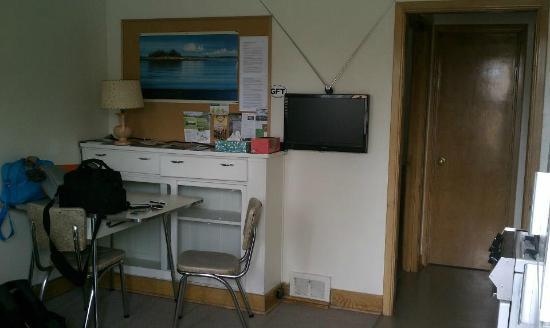 Strathcona Motel: Our mini apartment :)