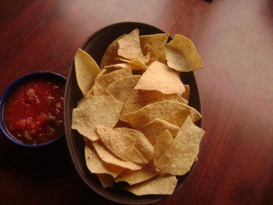 La Senorita Mexican Restaurant: FREE Chips and Salasa