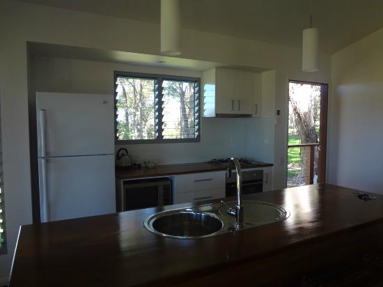 Yandina Station: kitchen area