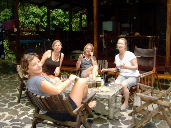 Congo Bongo Ecolodges Costa Rica: outside the Big House