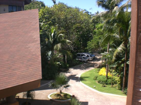 The Palms of Boracay: View of hotel grounds