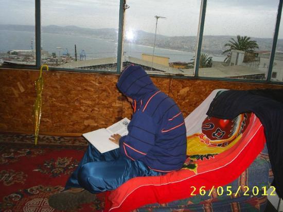 Hostal Armando : una vista de toda la bahía