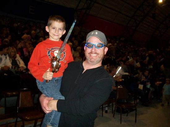 Mikey and I at Sailor Circus