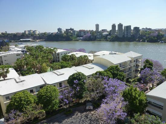 The Docks On Goodwin Apartments: View from 9th floor overlooking Brisbane River