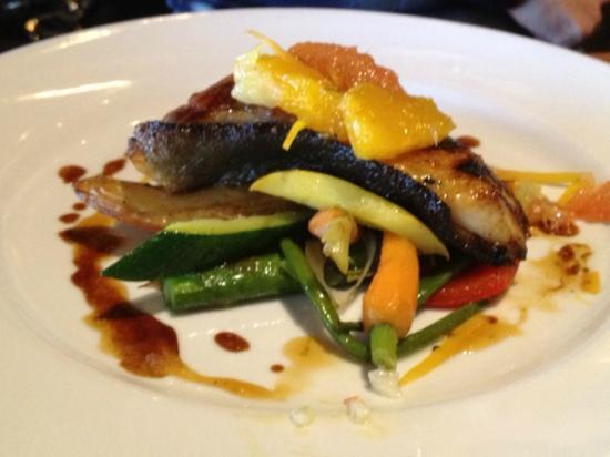 The Salmon House: Main course - sablefish