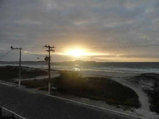 Foguete Beach: Nascer do sol