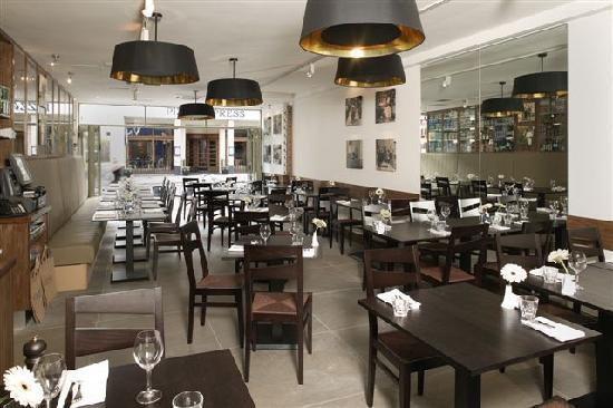 Valentina Fine Foods: Contemporary style restaurant