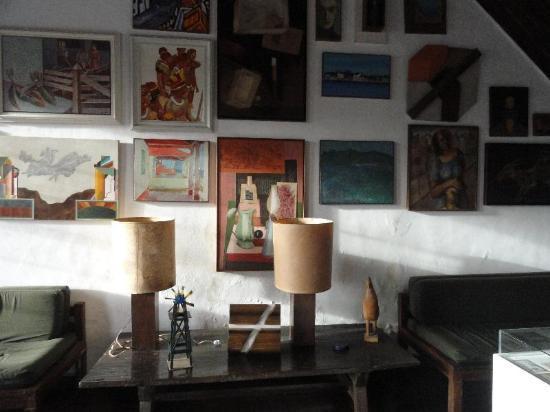 Casa-Atelie Scliar : interior da casa