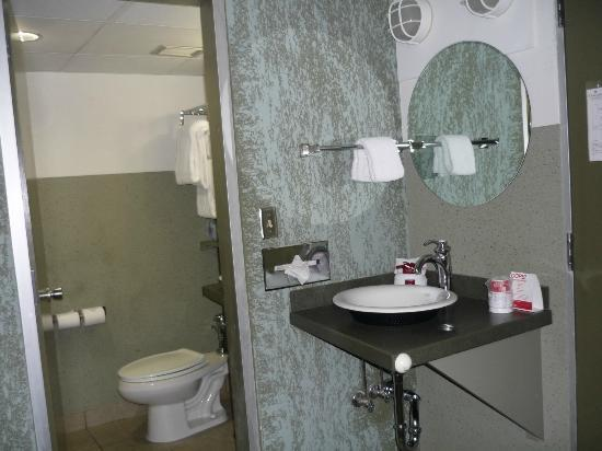 Oasis Hotel and Convention Center, an Ascend Hotel Collection Member: Bath area clean, updated has two sinks