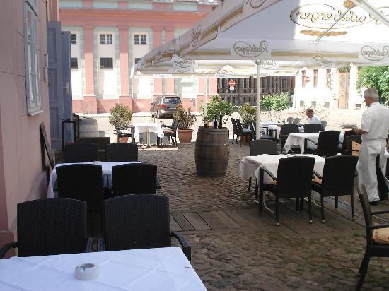 Restaurant Waage - arriving