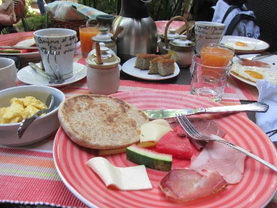 Posada Casa Sol: Breakfast
