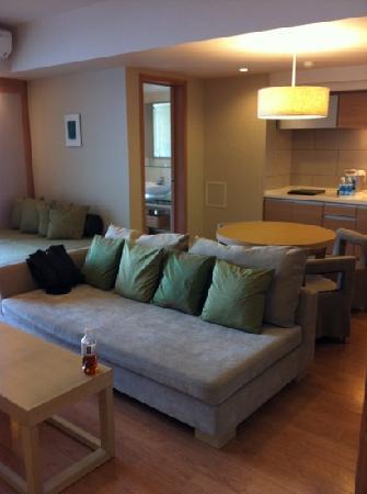 Moon Ocean Ginowan Hotel & Residence : キッチン付き