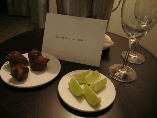 Rosewood Hotel Georgia: Personal touch