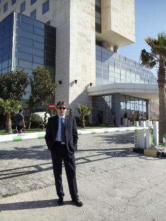 Holiday Inn Amman : Haupteingang