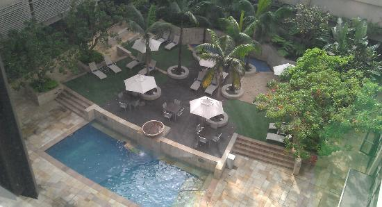 Garden Court Umhlanga: View from room 411