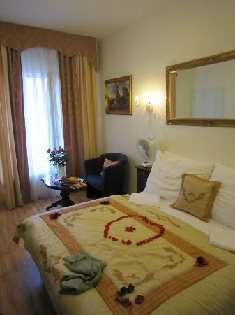 Hotel Donatello: Our room - honeymoon suite