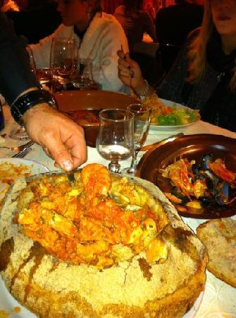 Velletri, Italia: zuppa di pesce 2