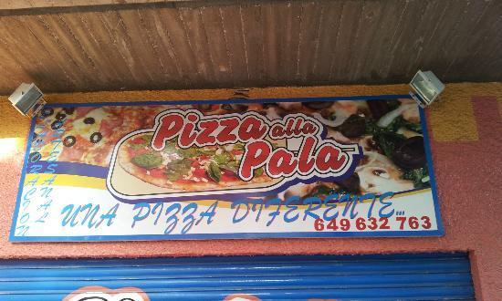 Pizza alla Pala : Publicidad
