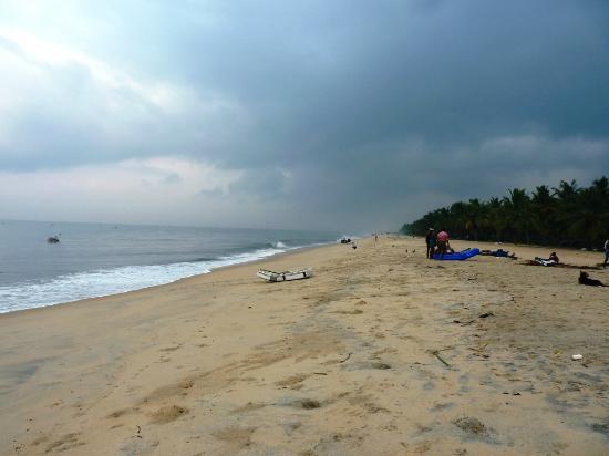 A Beach Symphony: Beach outside the resort