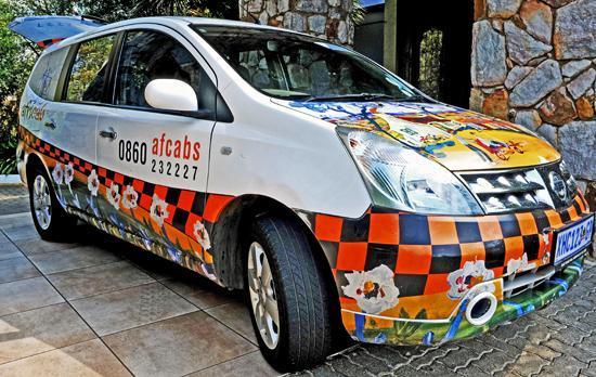 Afrique Boutique Hotel Oliver Tambo: Afri-Cabs