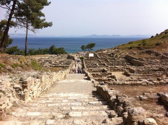Rhodes, Greece: Kamiros