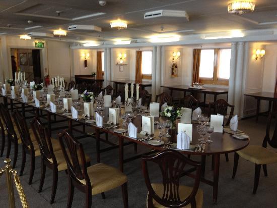 Salle Manger Britanya Kraliyet Yat Edinburgh Resmi