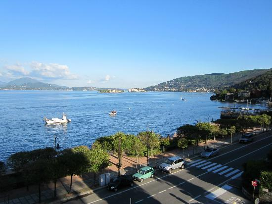 Hotel Beau Rivage: View from our room