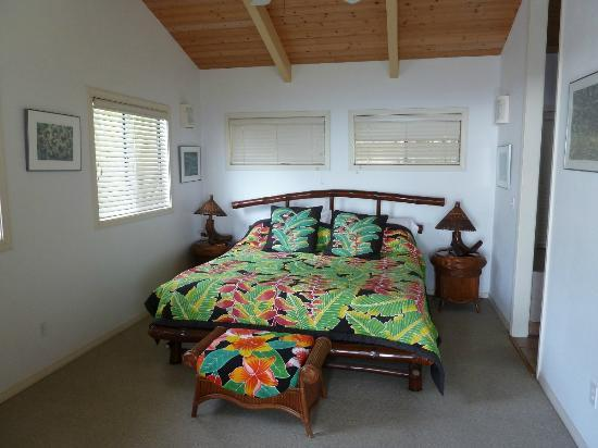 Hale Hualalai Bed and Breakfast: Schlafecke