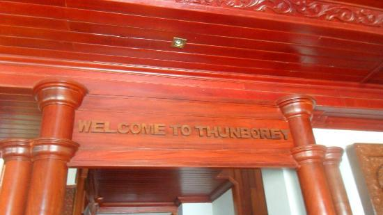 Thunborey Hotel : Front of the hotel 3
