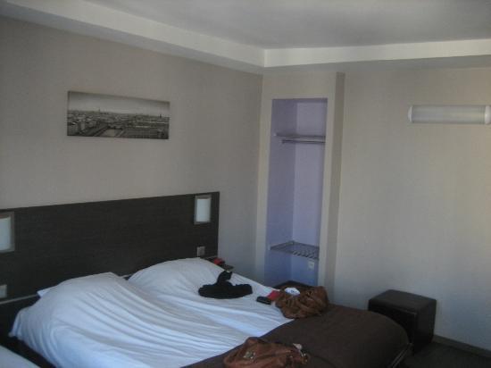 Jeff Hotel- Paris: la chambre