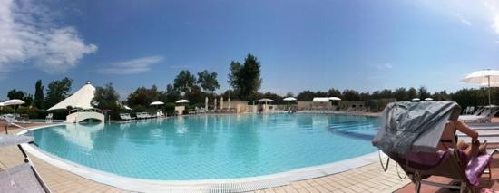 Lido di Pomposa, Italië: la piscina più grande