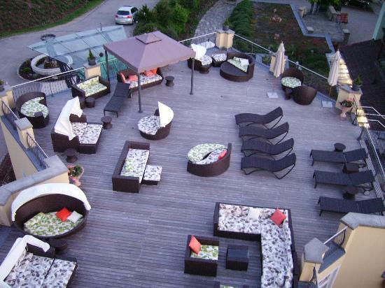 Spirit & Spa Hotel Birkenhof am Elfenhain: Romantikdeck