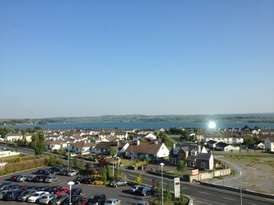Lough Rea Hotel and Spa: view from 3rd floor at the front of the hotel