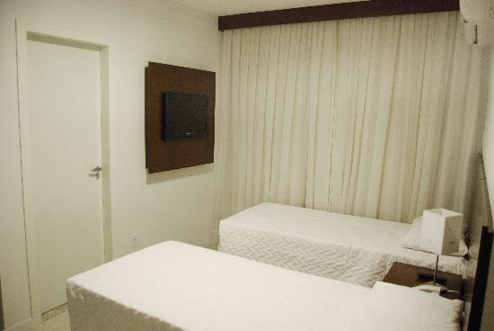Hotel Plaza Norte : apartamento duplo