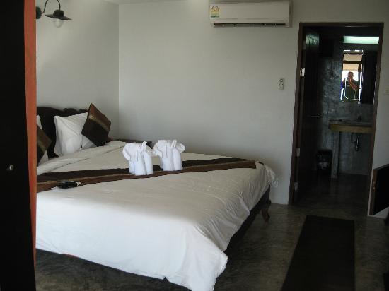 Chang Cliff Resort: Comfortable beds