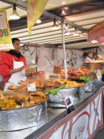 Marché Grenelle: paella