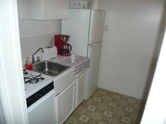 Bayside Hotel: Küche