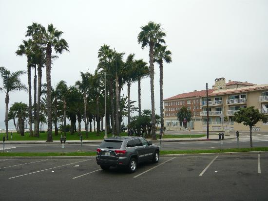 Bayside Hotel: Ausblick Richtung Strand
