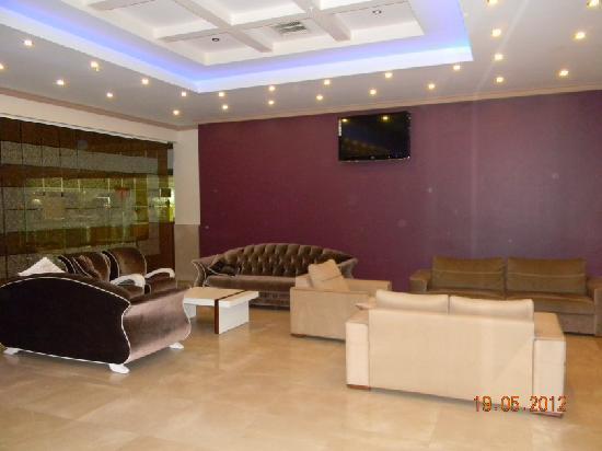 Mahmutlar, Turkey: lobby