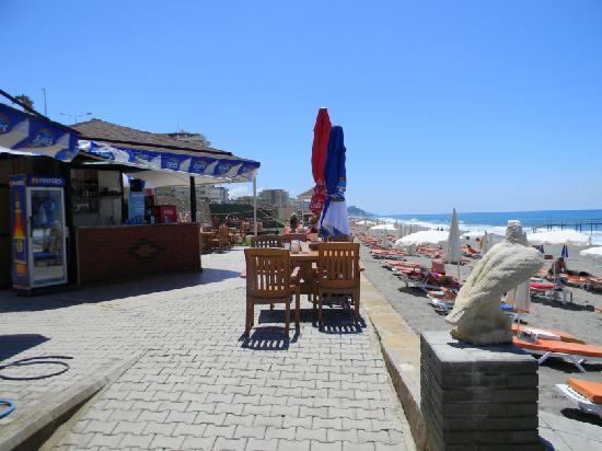 Hotel Happy Elegant: the beach bar