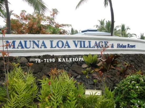 Wyndham Mauna Loa Village: enter