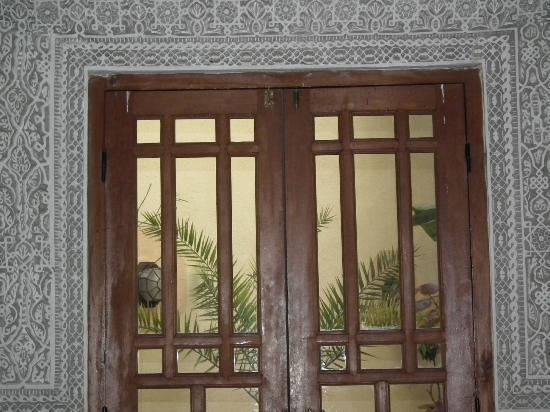 Riad La Cle de Fes: vue sur le jardin intérieur