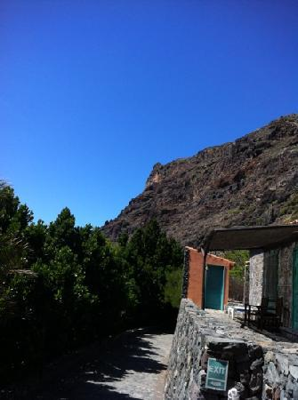 El Cabrito: obere haeuserreihe