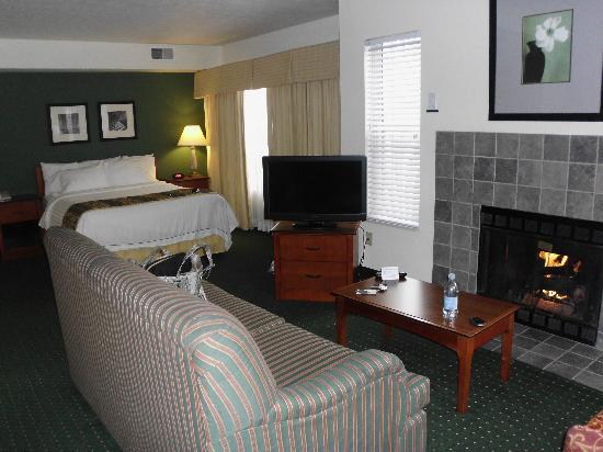 Residence Inn South Bend: This suite would cost a small fortune in Boston ...