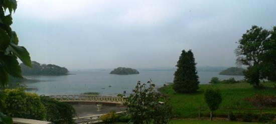 St Kyrans Country House & Restaurant: View From Terrace To Lough