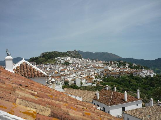 Molino del Carmen: View of Gaucin from rooftop